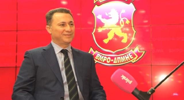 Gruevski prvi put pomenut kao organizator upada u parlament Makedonije