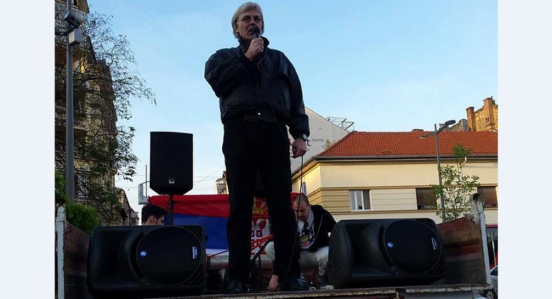 Priveden bivši diplomata Đuro Trkulja, supruga tvrdi - zbog tvita o Vučiću