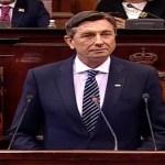 """Pahor u Skupštini: """"Ne treba očekivati veliku volju Evropske unije za proširenjem."""" Opozicija bojkotovala sednicu"""