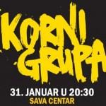 Povratnički koncert Korni grupe sutra u Sava centru