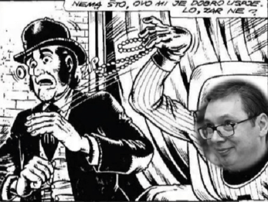 """Naš kriminalac iz TV je već viđen u stripu ,,Alan Ford"""""""