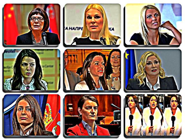 Šta je to što je neke žene pretvorilo u hladnokrvne sluge nehumane politike i pitanja SNS članicama