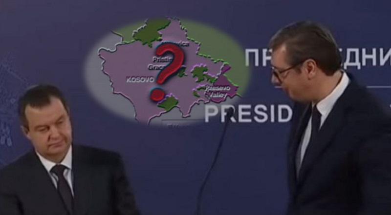 Dačić: Razgraničenje zvanična pozicija Srbije; Vučić: To sam rekao još pre godinu dana.