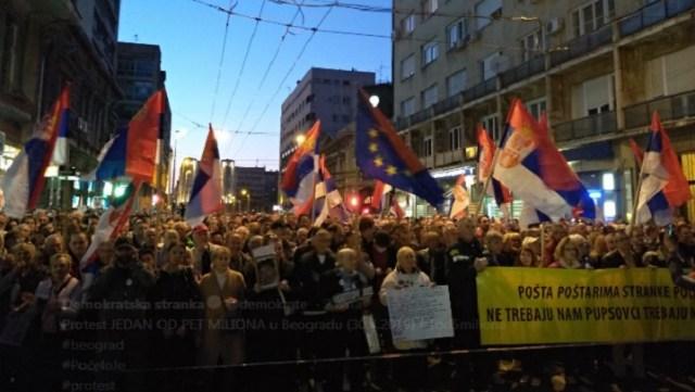 """Sedamnaesti protest """"1 od 5 miliona"""": Pobeda iz 2000. godine bila kratkog veka"""