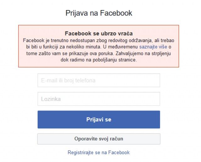 "Facebook i Instagram su ""pali"" širom sveta"