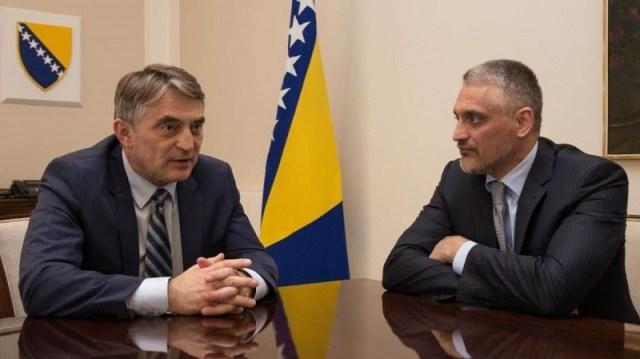 Čedomir Jovanović imenovan za savetnika Željka Komšića