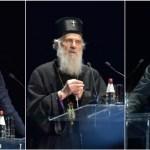 """Patrijarh Irinej, Vučić i Dodik u Nišu: """"Neka im bog sudi po svojoj pravdi""""; """"Srbiju ne mogu da pobede""""; """"Nema opraštanja"""""""