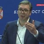 Pacoli: Ukidanje taksi kad se nastave pregovori; Vučić: Od tog posla nema ništa