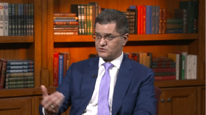 "Jeremić: Srbijom vlada ""šizofreni konglomerat"" Brnabić, Šešelj, Miša Vacić"
