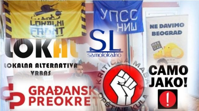 Formiran Građanski front, pristupilo mu 12 organizacija