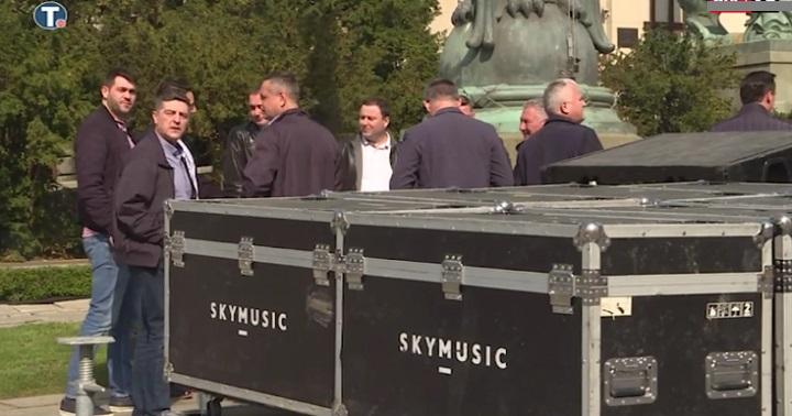 """Miting SNS u Beogradu počinje u 18 sati, centar grada u """"opsadnom stanju"""""""