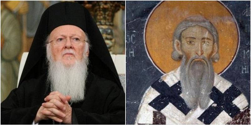 Celing: Patrijarh Vartolomej poručio Srbima da žive u laži i da SPC nije dobila pre 800 godina autokefalnost!