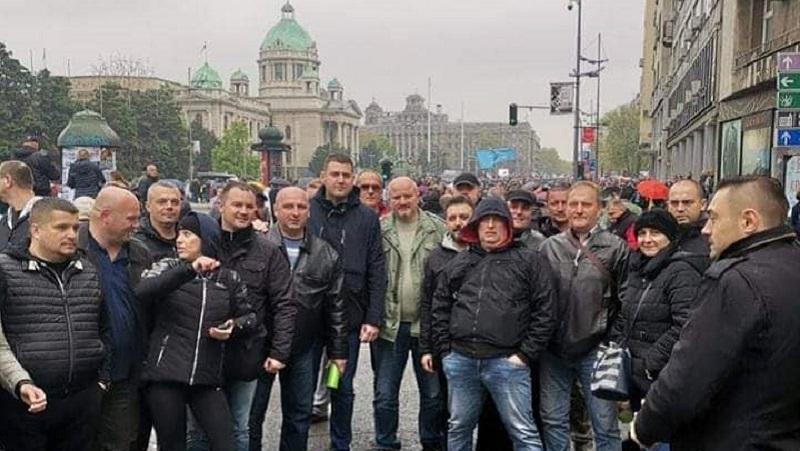 Policijski i Vojni sindikat Srbije: Mesto nam je uz narod! Za ovaj narod se vredi boriti!