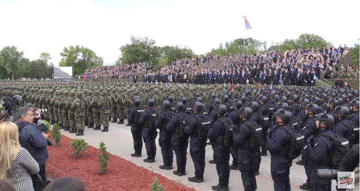 Vojno-policijska parada u Nišu (VIDEO)