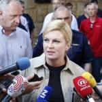Skandalozna izjava hrvatske predsednice o nasilju nad migrantima