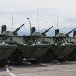 Ruski oklopni transporteri stigli u Batajnicu