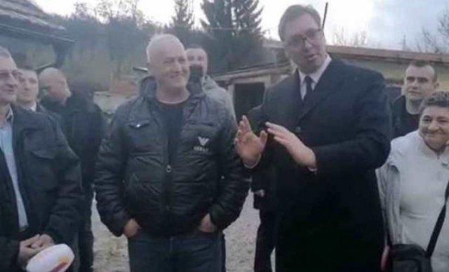 Vučić u Bugojnu sreo prijatelja s kojim je imao nezaboravnu tuču