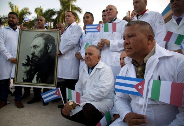 Kuba šalje medicinske stručnjake u Italiju