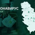 U Srbiji ukupno 2.867 zaraženih koronavirusom