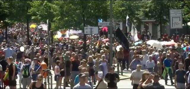 Berlin zabranio proteste protivnika mera borbe protiv širenja koronavirusa