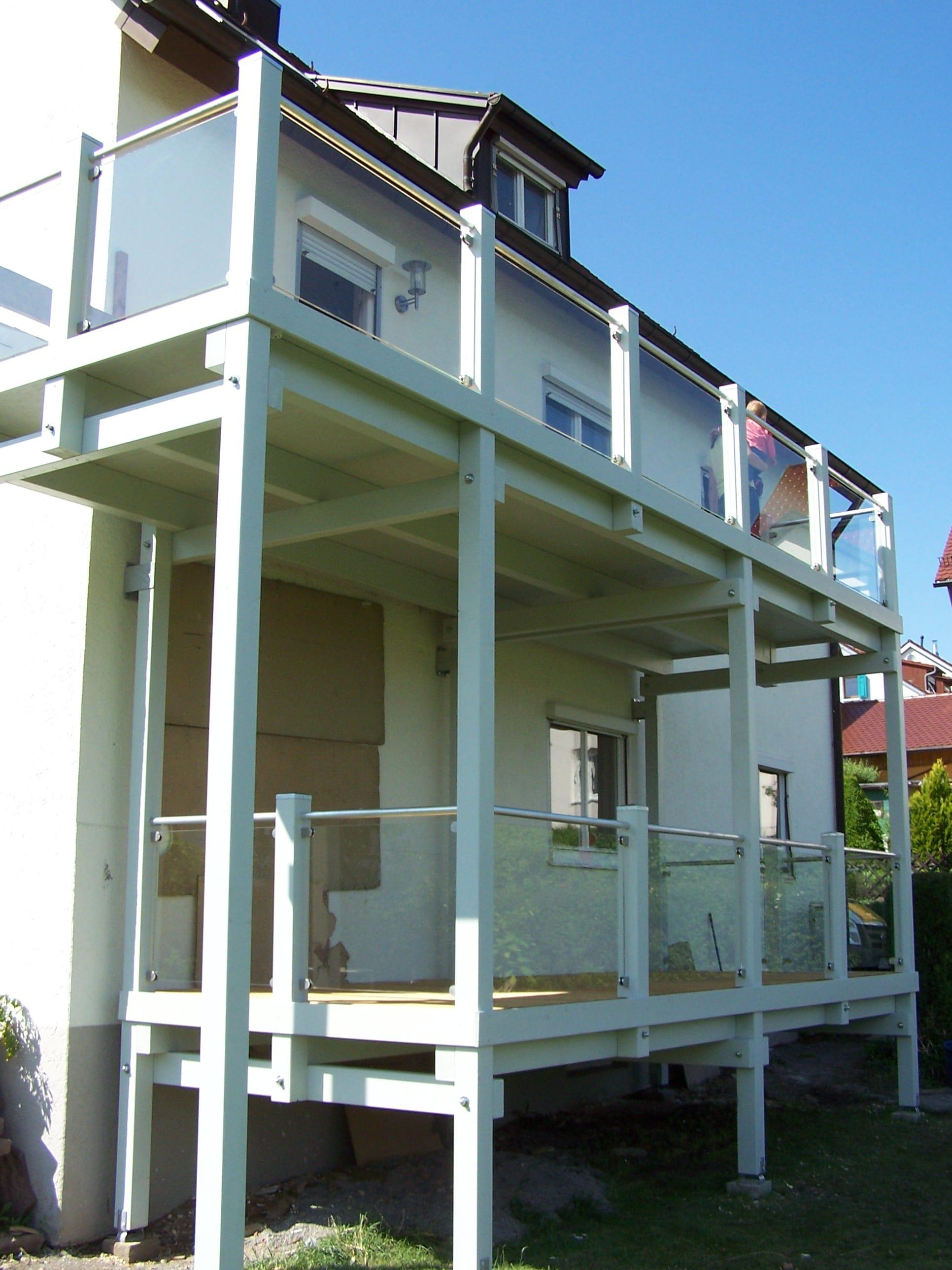 Balkon Anbauen Dachgeschoss Haustyp Classic 157 S Hartl Haus