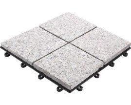 Granit viergeteilt, 30 x 30 cm