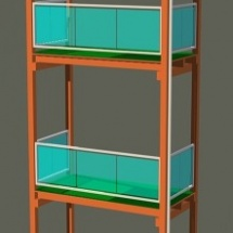 Holz-Glas
