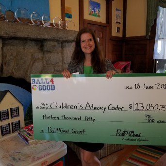 Children's Advocacy Center Receives Ball4Good Grant