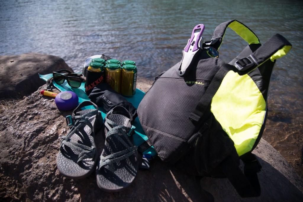 River rafting day trip gear