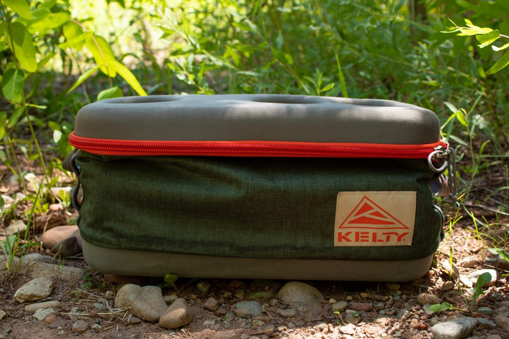 Folded Kelty Folding Cooler