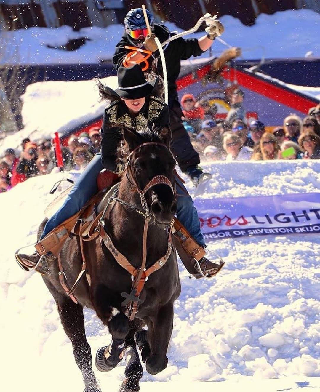 Skijoring: The West's Rising Star