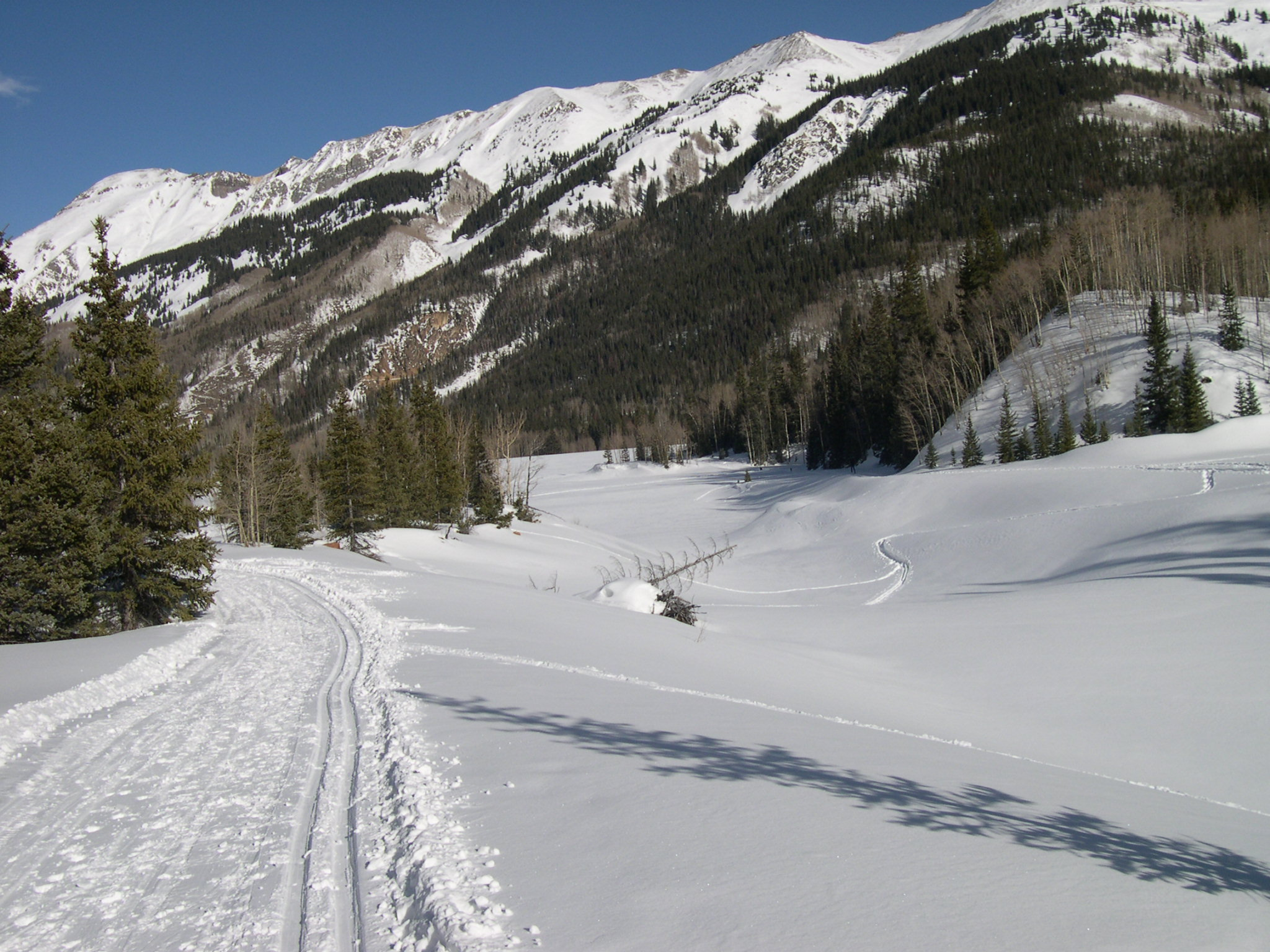 groomed trails