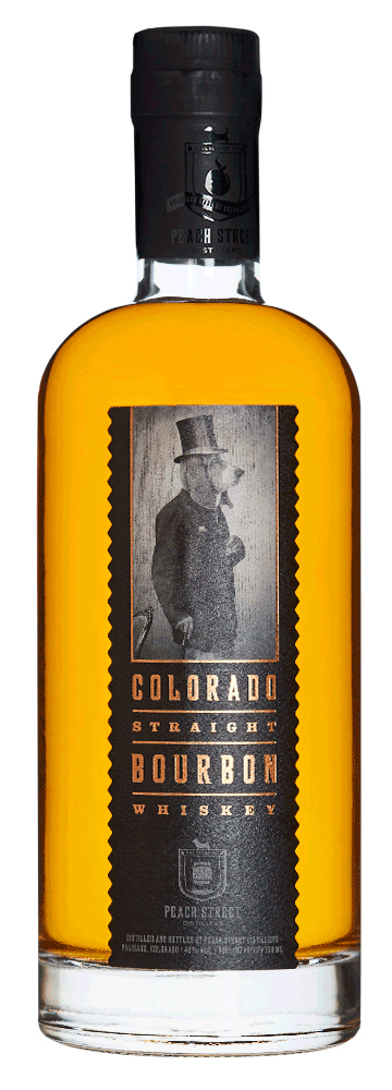 Peach Street Distillery Colorado Straight Bourbon