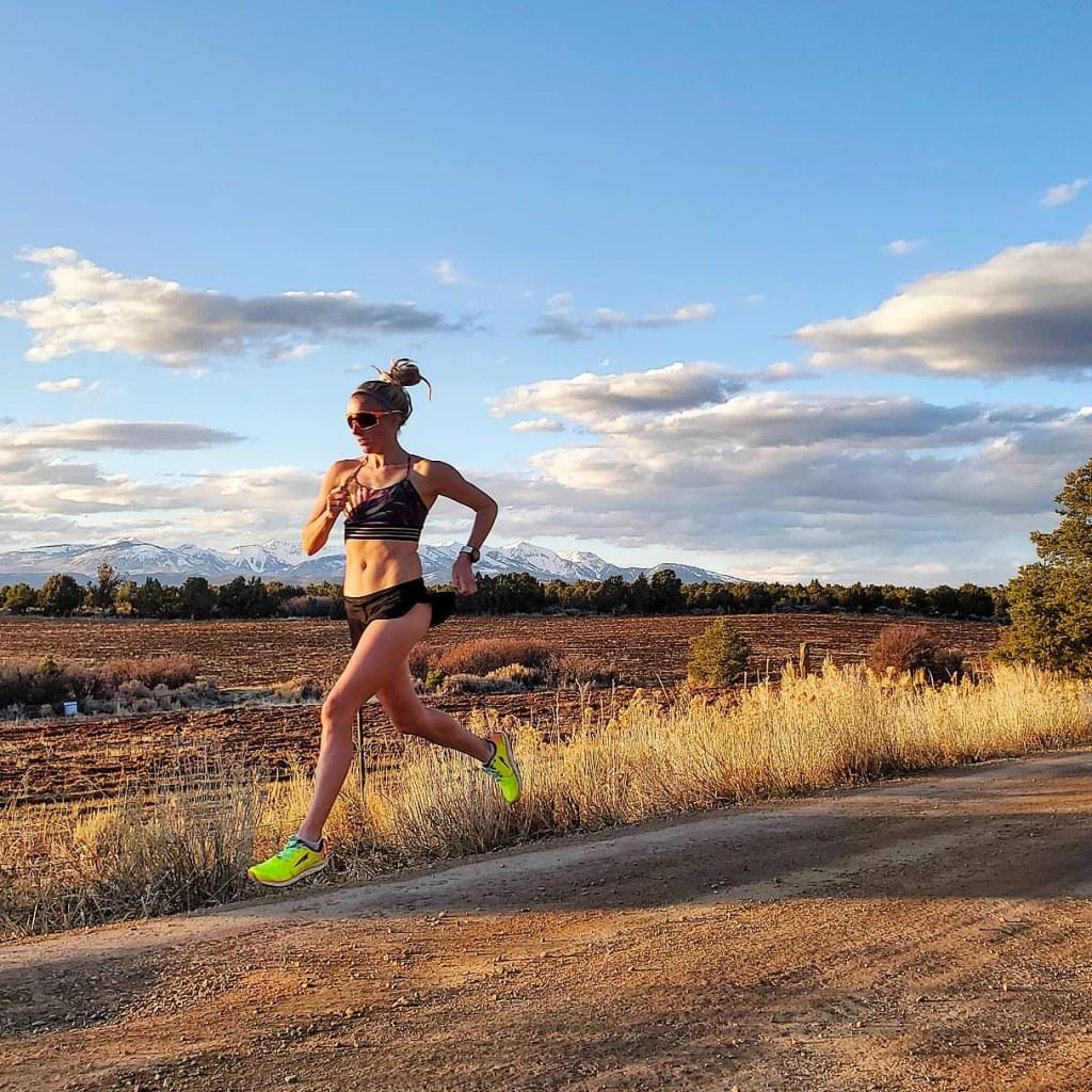 meredith edwards sponsored athlete running scenic