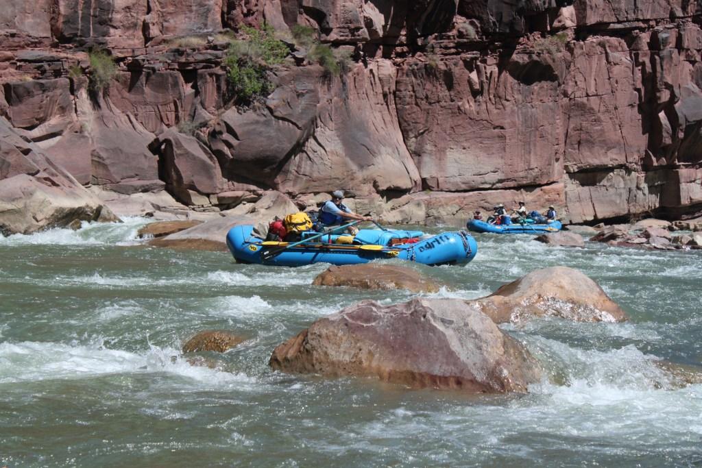 gates of lodore rafting triplet rapids