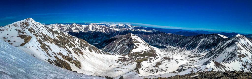 torreys peak kelso mountain grays peak winter mountaineering 14er