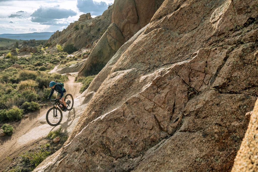 krista powers mountain biking hartman rocks colorado