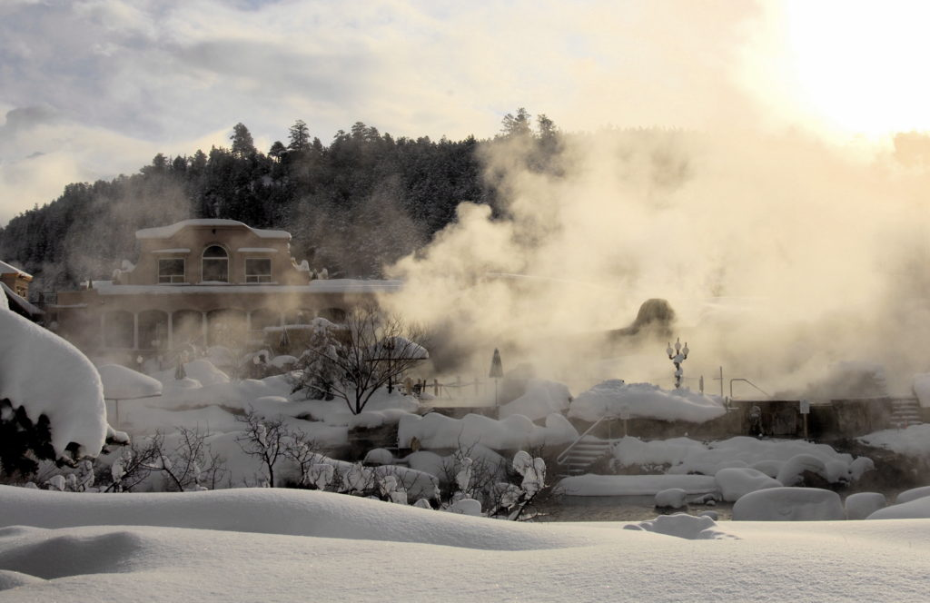 The Springs Resort and Spa in Pagosa Springs, Colorado.