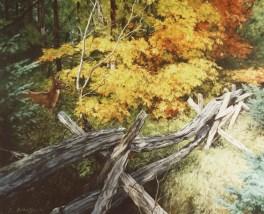 """Autumn Splendor Acrylic on Canvas 24"""" x 28"""""""