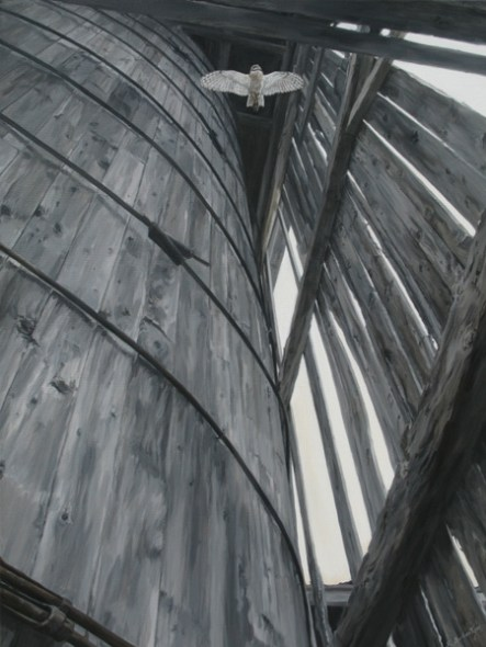 "Silo Haunt 30"" x 40"" Acrylic on Canvas - Price on Request"