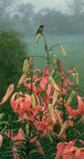 """A New Day 12""""X 24"""" Acrylic on Panel SOLD"""