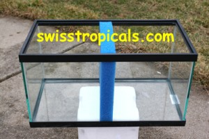 HMF Aquarium Filtration Poret divider