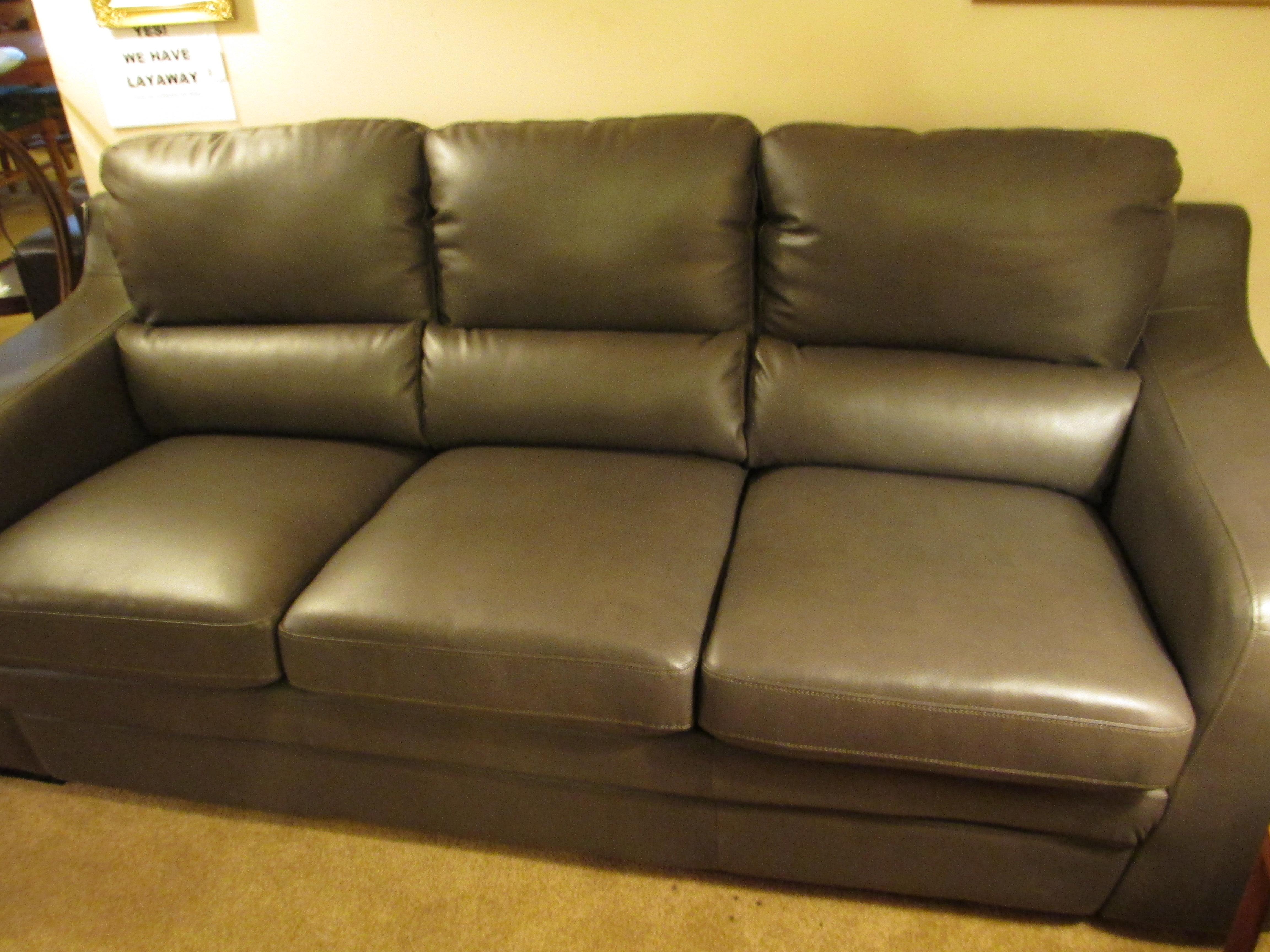 bergamo sectional leather modern sofa gray pit uk kasala | brokeasshome.com