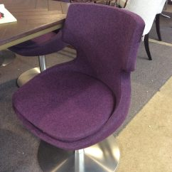 Purple Swivel Chair St Tropez Hanging Sold  Ballard Consignment