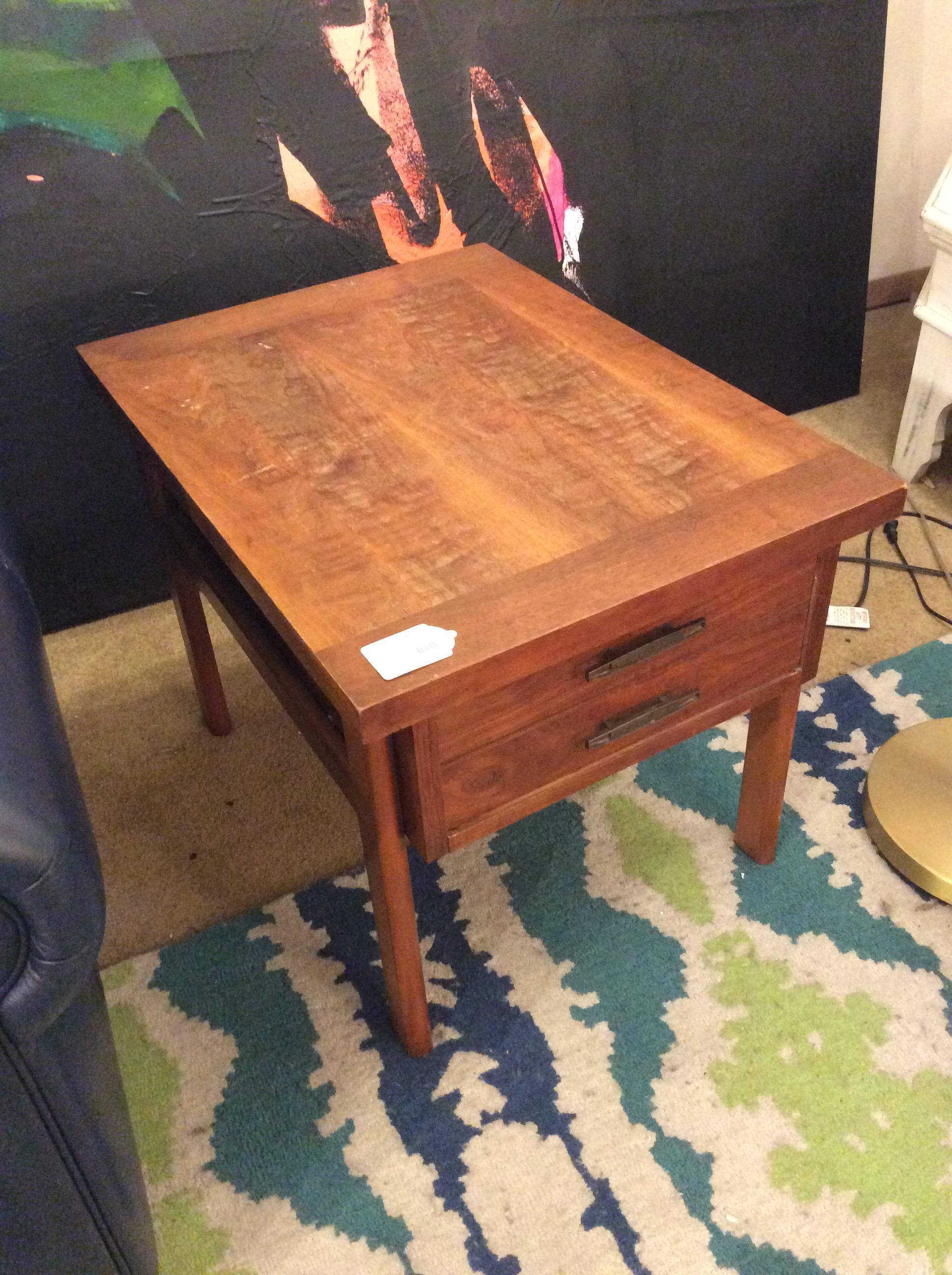 lane mid century end table sold