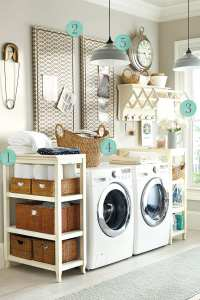 5 Laundry Room Decorating Ideas