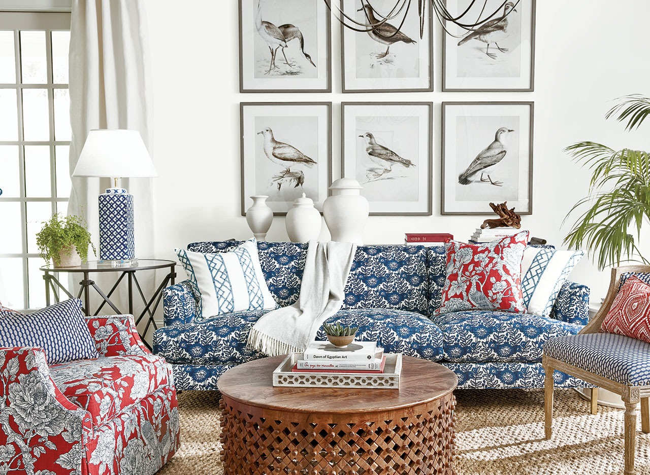 Decorating With Red, White And Blue