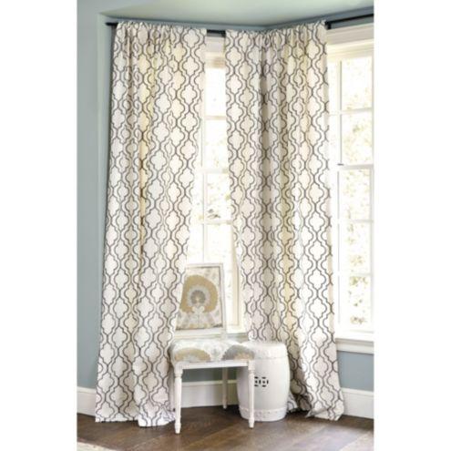 108 Inch Linen Curtains Ballard Designs