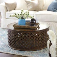Party Folding Chairs Faux Leather Chair Paint Bornova Coffee Table | Ballard Designs