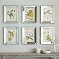 Orchids In Mirror Frame | Ballard Designs